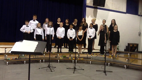 Winter Concert 2013 - Chorus/Glee Club (video)