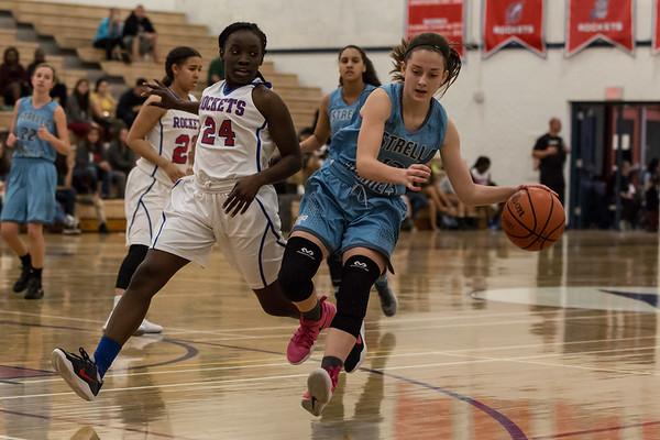 Basketball Estrella Foothills Girls vs Moon Valley 20161220