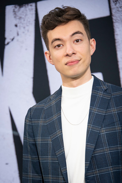 """HOLLYWOOD, CALIFORNIA - SEPTEMBER 28: Motoki Maxted attends the premiere of Warner Bros Pictures """"Joker"""" on Saturday, September 28, 2019 in Hollywood, California. (Photo by Tom Sorensen/Moovieboy Pictures)"""