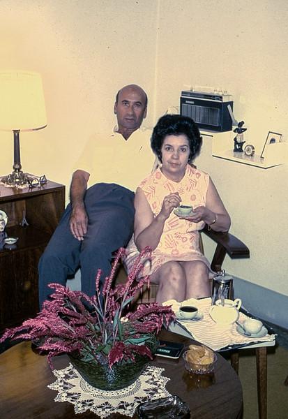 Natal 1971 - Casal Manuel Valente