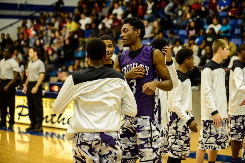 Basketball Varsity vs  Crowley 12-11-13-19