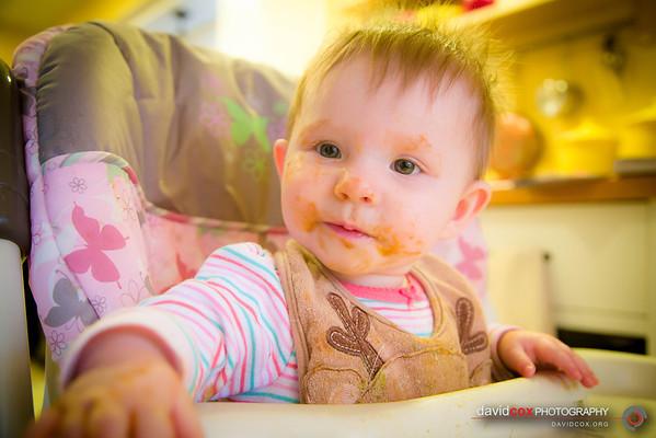 Madeline Irene Month 8 (February 2013)
