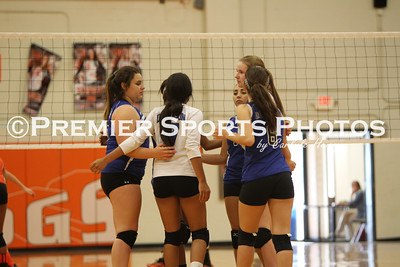 La Porte Freshman Volleyball vs Dickinson 9/9/2014