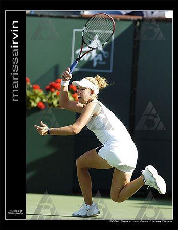 WTA R2: Marissa Irvin def. Daniela Hantuchova
