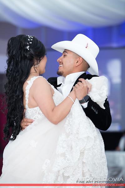 Karina + Andres Wedding