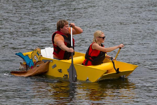 United Way Cardboard Boat Race
