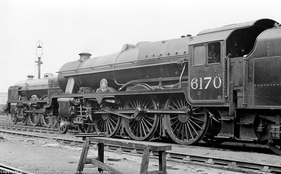 Stanier rebuilt Royal Scot class LMS era