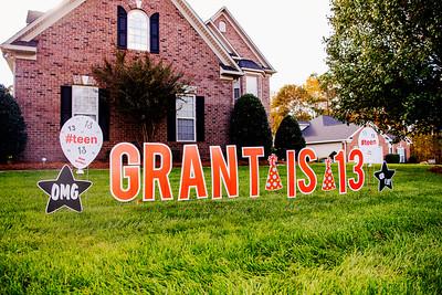 Grant Barber's 13th Bday Drive Through 11-7-2020 by Jon Strayhorn