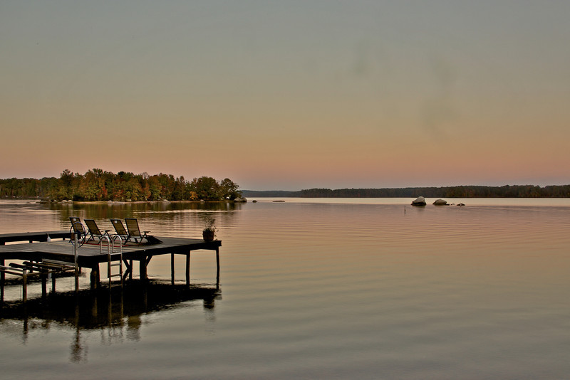 Sunset at Lake Oconee