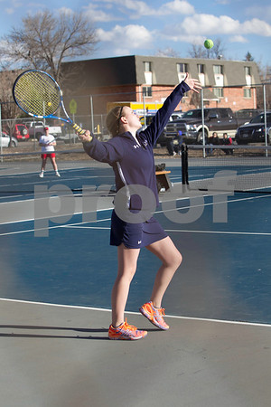 Mullen Girls Tennis