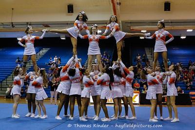 JV Cheer Hawk Cheer Challenge 9/26/18