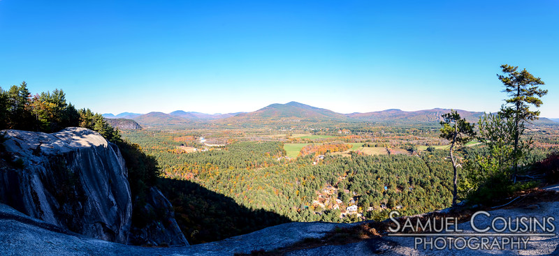 View from Cathedral Ledge in New Hampshire