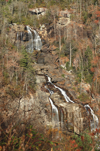 Whitewater Falls in North Carolina's Nantahala National Forest