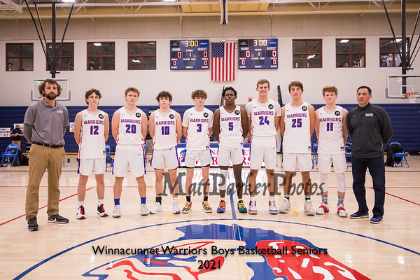 2021-1-22 WHS Boys Basketball vs Exeter