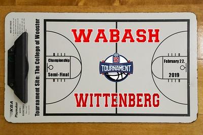 2019 NCAC Championship Semi-Final - Wabash versus Wittenberg (02-22-19)