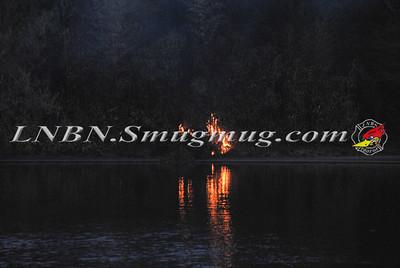 Baldwin F.D. Brush Fire at Silver Lake Park 4-6-12