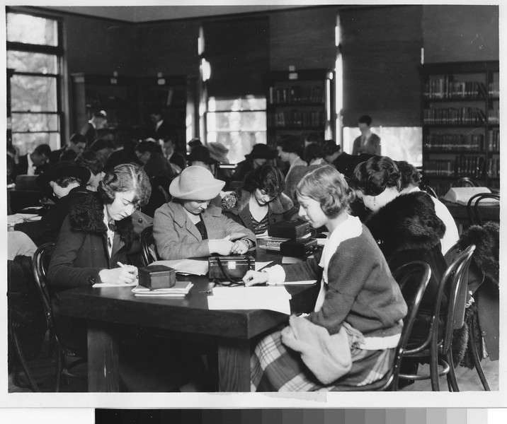 Library, College of Liberal Arts, USC, ca. 1930s