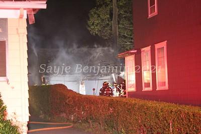Garage fire - 44 Turney Road Fairfield, CT - 8/13/2021