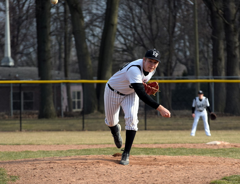 Edsel Ford welcomed in Lincoln Park on Wednesday afternoon and defeated the Railsplitters by a score of 9-5. Photo by Frank Wladyslawski - Digital First Media