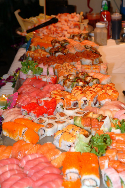 Dr. Paul Chasan's House Warming Party - Sushi Station.