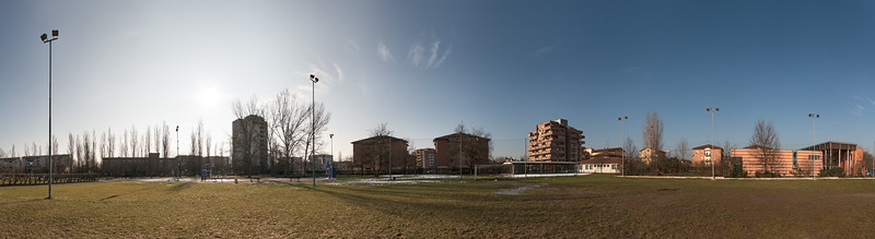 Parco della Mirandola - Reggio Emilia, Italy - February 19, 2015