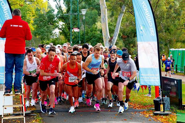 Sri Chinmoy Princes Park 20km  15km   10km   5km Run: 25th April 2021