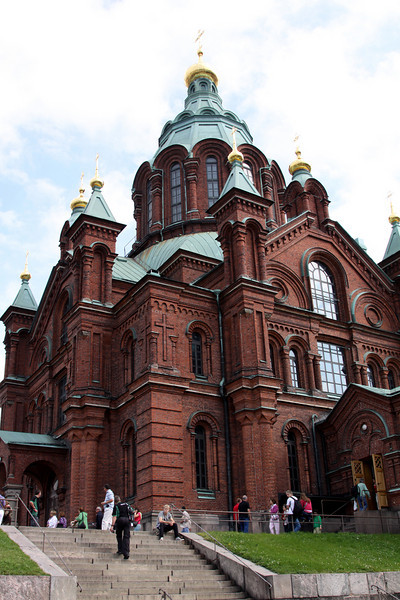 Uspensky Cathedral, Russian Orthodox, opened in 1868.