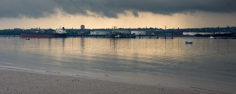 Birkenhead riverfront