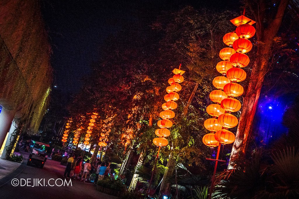 Mid-Autumn at Gardens by the Bay - Giant Lantern Display / Red Lanterns