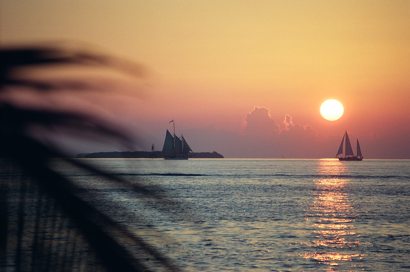 Florida's southernmost state park in Key West, Fort Zachary Taylor is a popular beach and recreation site as well as for U.S. military history.  The sunset views from the southernmost park encompassing sailboats and historic schooners are unequaled in beauty.