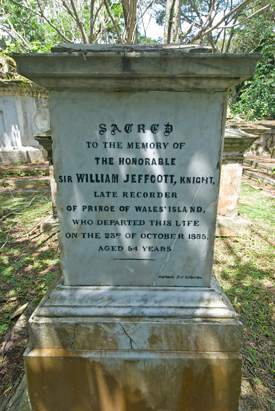 Another shot of a tombstone in Protestant Cemetery in George Town, Penang, Malaysia