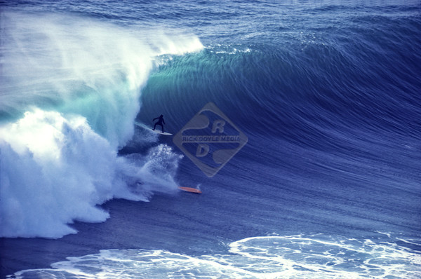 Blacks Beach; Surfer;, Surfing, Ocean Wave, Waves, winter '82/'8