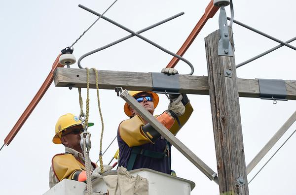Photos: Raptor Guards Installed on Longmont Utility Poles