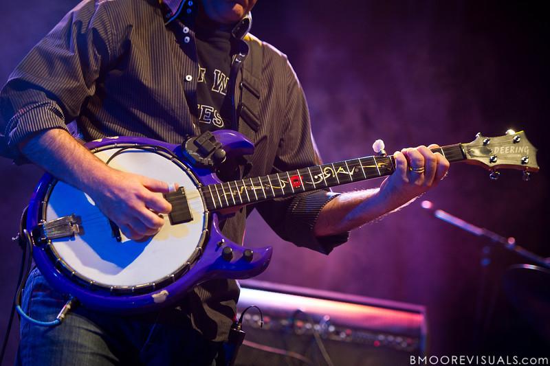 Bèla Fleck of Bèla Fleck & The Flecktones performs at Jannus Live in St. Petersburg, FL on October 20, 2011