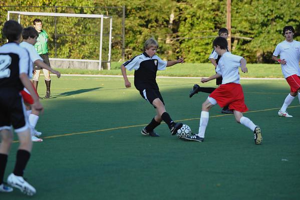 Paul VI Boys JV Soccer 2009