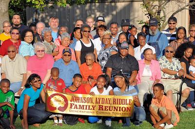 Our Love Runs Deep Johnson Lyday Riddle Reunion Sept 5, 2010
