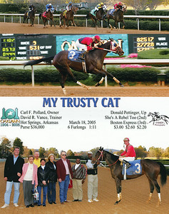 MY TRUSTY CAT - 03/18/2005