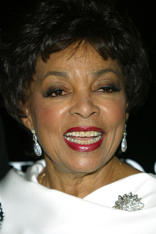 . Actress Ruby Dee attends Oprah Winfrey\'s Legends Ball at the Bacara Resort and Spa on May 14, 2005 in Santa Barbara, California.  (Photo by Frederick M. Brown/Getty Images)