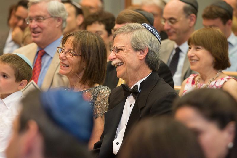 Gail Fribush and Rabbi Rudolph -- Tour de Rudolph -- Retirement tribute for Rabbi Bill Rudolph, Congregation Beth El, Bethesda, MD, May 17, 2015