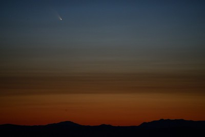 Comet Pan-STARRS Time Lapse and Photos