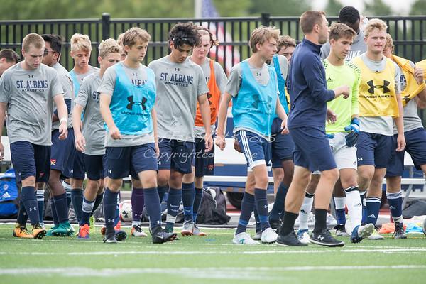 St. Albans Varsity Soccer Scrimmage  vs Potomac School