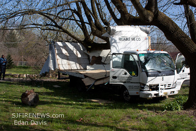 03-27-2012, Box Truck MVC, Franklin Twp. Gloucester County, 2466 Rt. 40