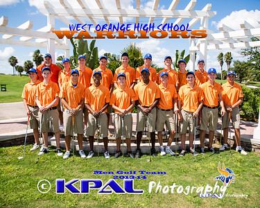 Boy's Golf Team Photos
