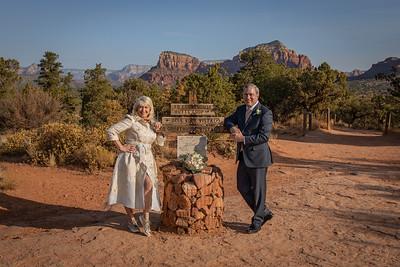Bonnie & Michael's Sedona Wedding