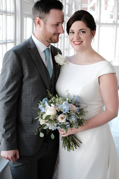 Rachel and Mark wedding party