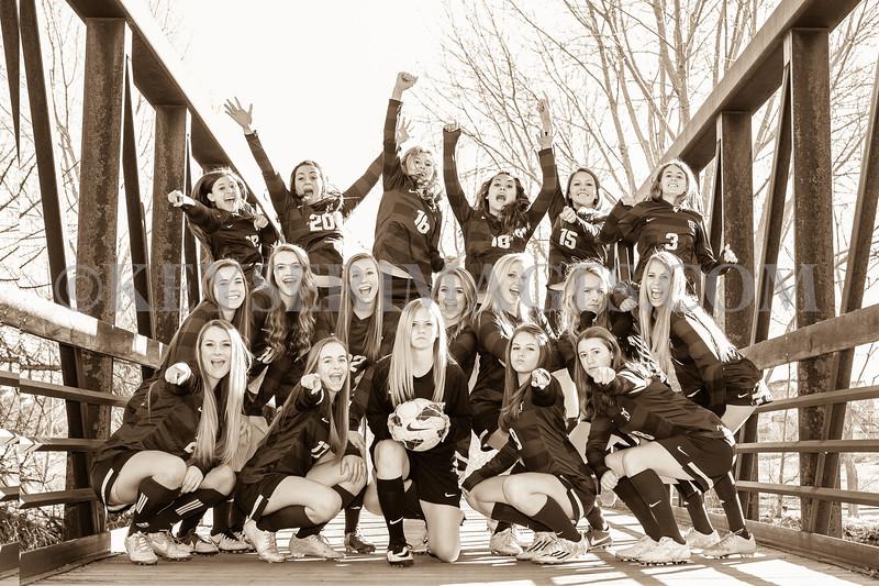 2014-2015 Legend Varsity Girls Soccer