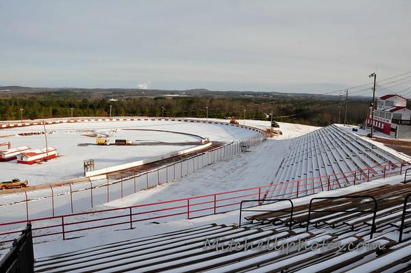 Rome Speedway Snow 1/29/14
