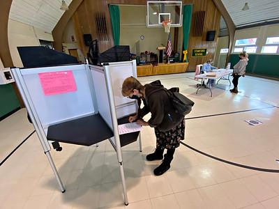 Voting in Stamford - 042021