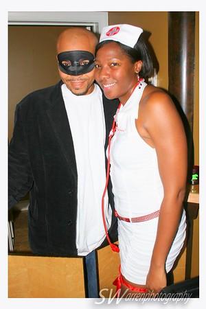 NBA's Lorenzo Wright Halloween party Atlanta, GA