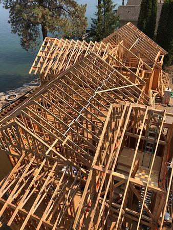 The Whitney Home on Flathead Lake